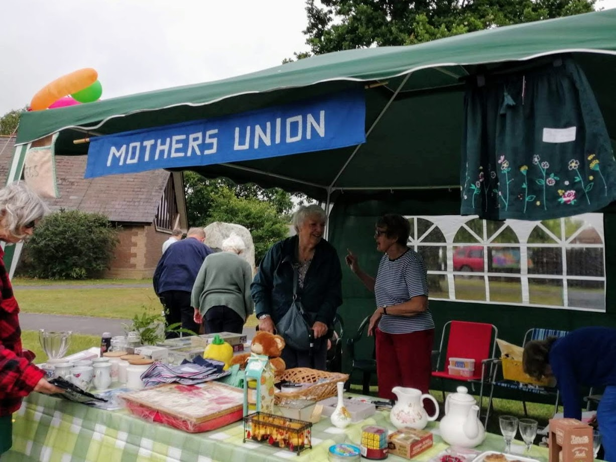 Photo of the Mothers Union stall