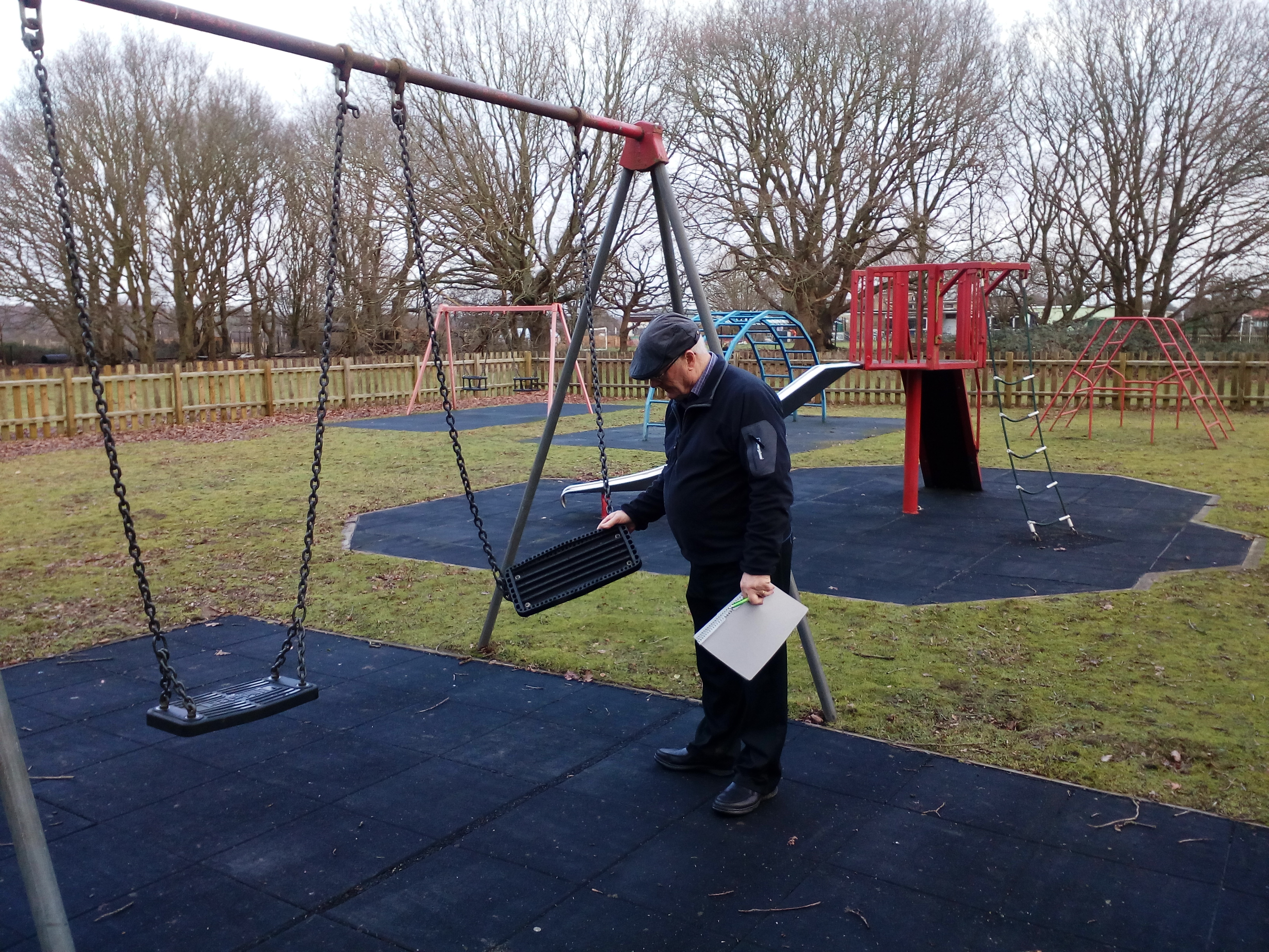 VOLUNTEER PLAY AREA INSPECTORS STILL REQUIRED!